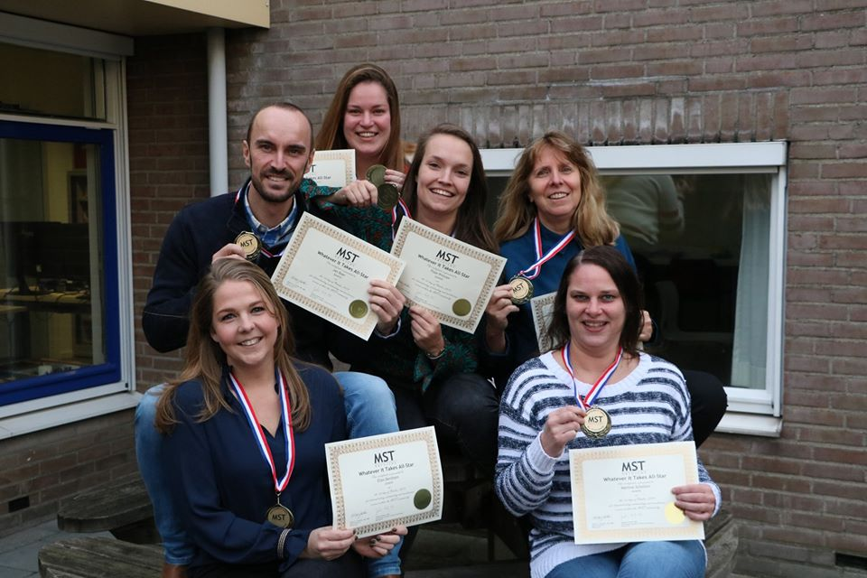MST teams Juvent winnen Quarterly All-Star award - MST Multi Systeem Therapie